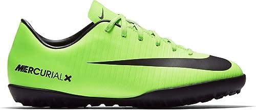 Nike Jr Mercurialx Victory Vi TF, Zapatillas de fútbol Sala Unisex niños, Verde (