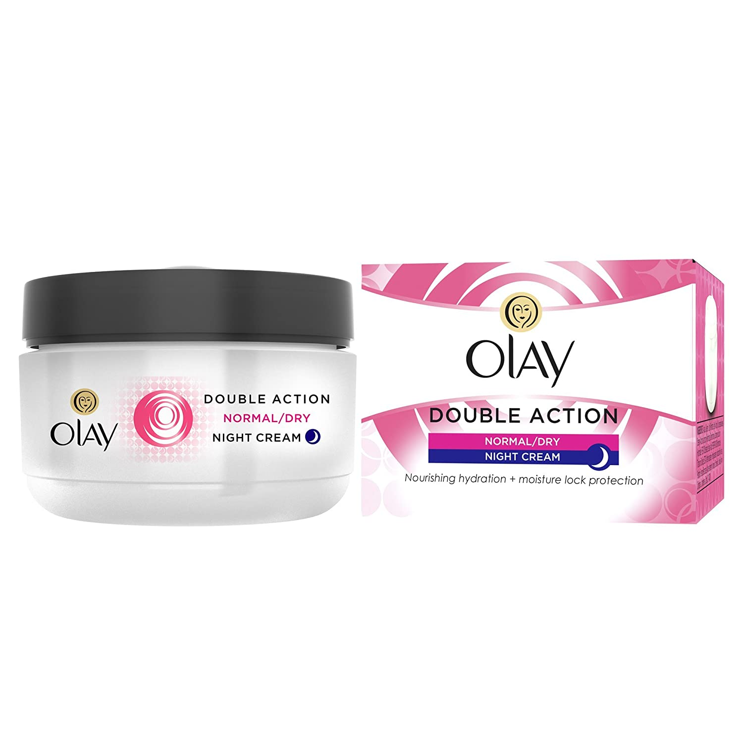 Olay Double Action Night Cream Normal/Dry 50ml 100766687