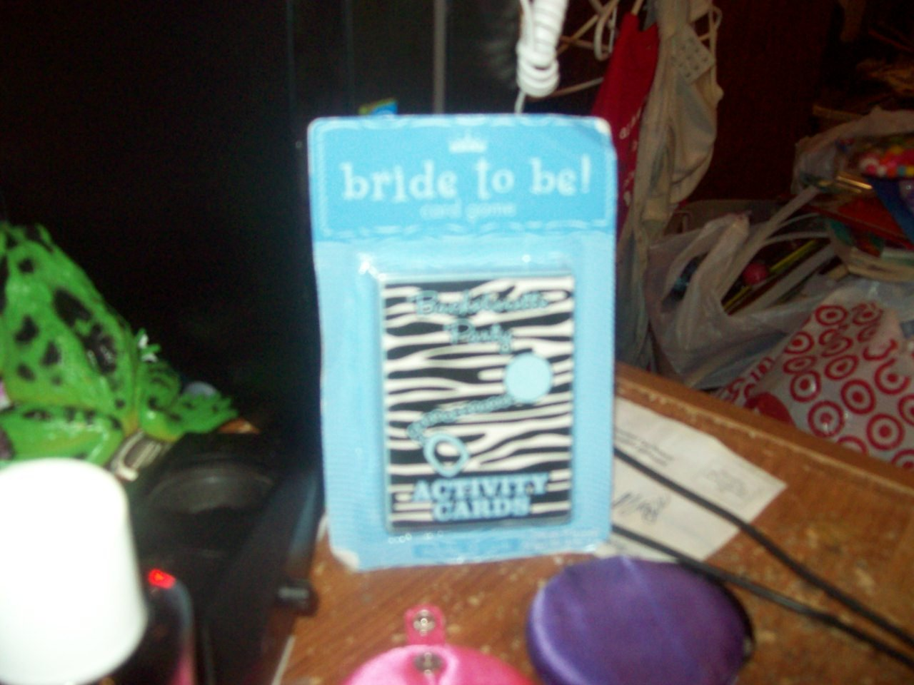 Card Game Activity Game Noteworthy Bride to Be