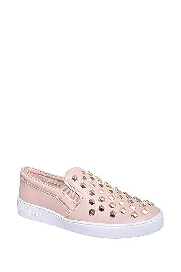 42eb3453b0fe05 Amazon.com: Michael Michael Kors Keaton Slip-On Sneakers 9.5: Shoes