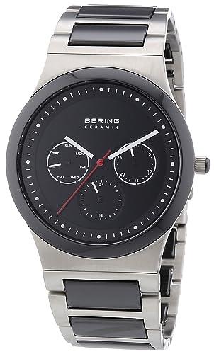 BERING Reloj Analógico para Hombre de Cuarzo con Correa en Acero Inoxidable 32139-702: Amazon.es: Relojes