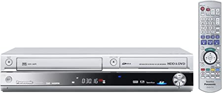 Panasonic Dmr Ex 95 Veg S Vhs Dvd Und Festplatten Recorder 250 Gb Hdmi Dvb T Silber Home Cinema Tv Video