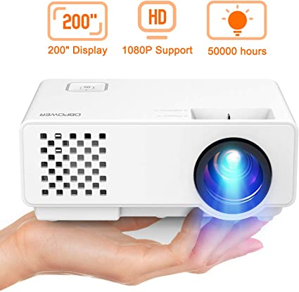DBPOWER Mini Proyector PortáTil Full HD de 2000 LúMenes con ...