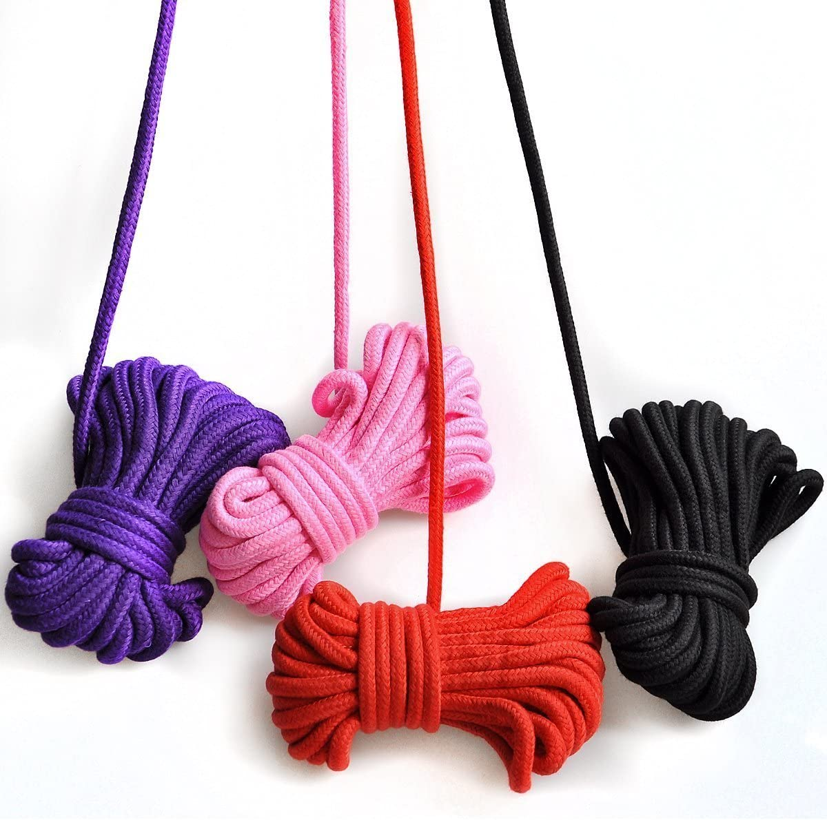 Soft Cotton Rope 32 Foot /× 2//3 Pack All Purpose Strong Multifunctional Rope Durable Long Strap