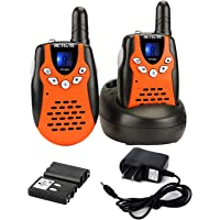 Retevis RT-602 Kids Walkie Talkies Rechargeable VOX 8 Channel 2 Way Radio for Kids for Birthday Gift Christmas (Orange…