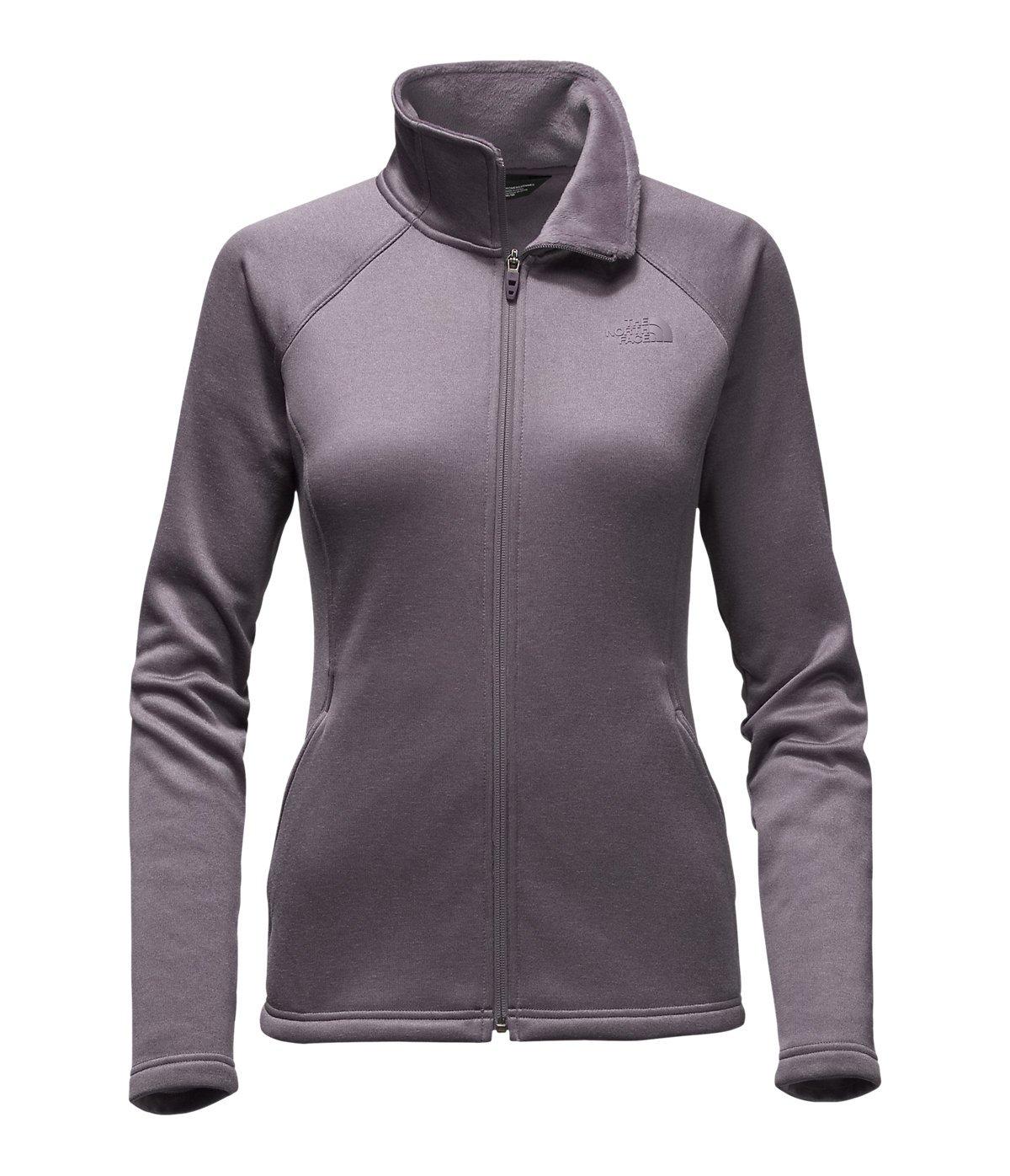 The North Face Agave Full Zip Womens Rabbit Grey Heather Medium