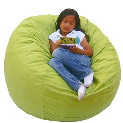 Cozy Sack 3 Feet Bean Bag Chair, Medium, Lime
