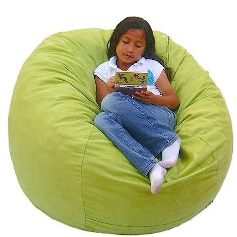 Cozy Sack 3 Feet Bean Bag Chair Medium Lime