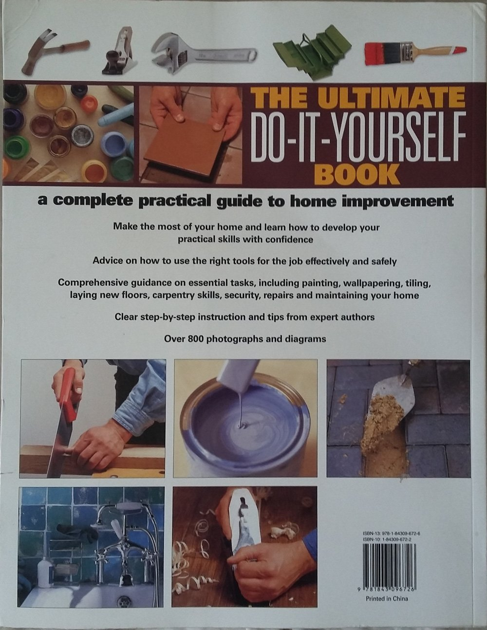 The ultimate do it yourself book a complete practical guide to the ultimate do it yourself book a complete practical guide to home improvement amazon mike collins david holloway benda legge solutioingenieria Gallery