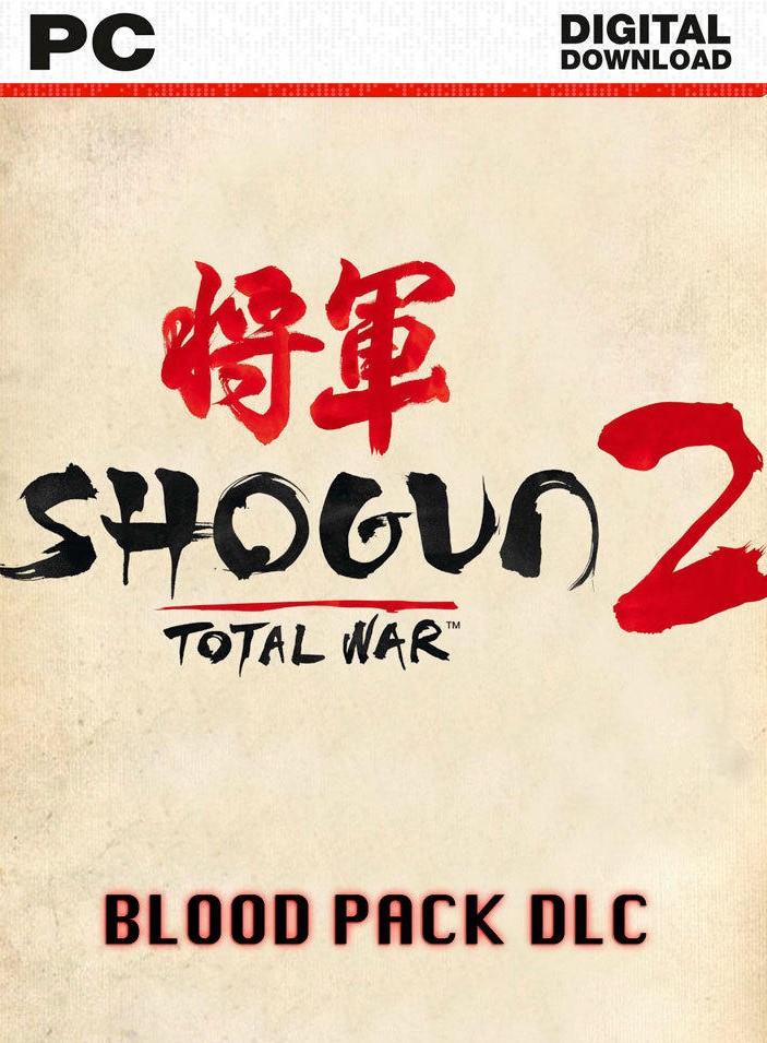 Total War: Shogun 2 -The Blood Pack DLC [Online Game Code]