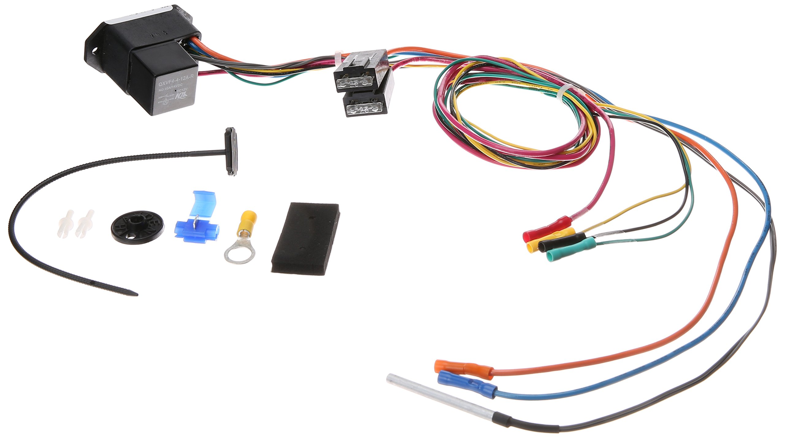 Four Seasons 35879 Radiator Fan Mounted Cooling Relay Wiring Kit Together With Electric Temperature Switch Automotive