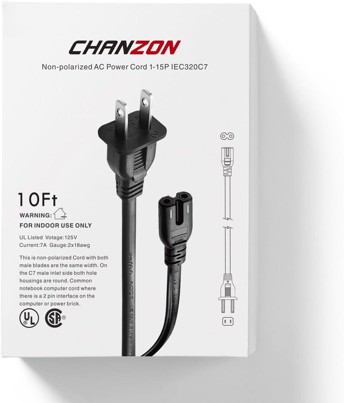 Epson Expression Home XP330 XP340 XP430 XP424 XP520 Printer AC Power Cable Cord