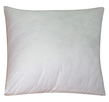 Amazon Lushomes Filler White Pillow Insert Square Cushion 40 X Amazing 16 Inch Square Pillow Insert