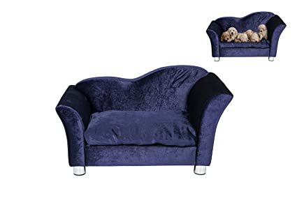 BuyHive Dog Couch Chaise Lounge Sleeping Sofa Bed Snuggle Puppy Seat