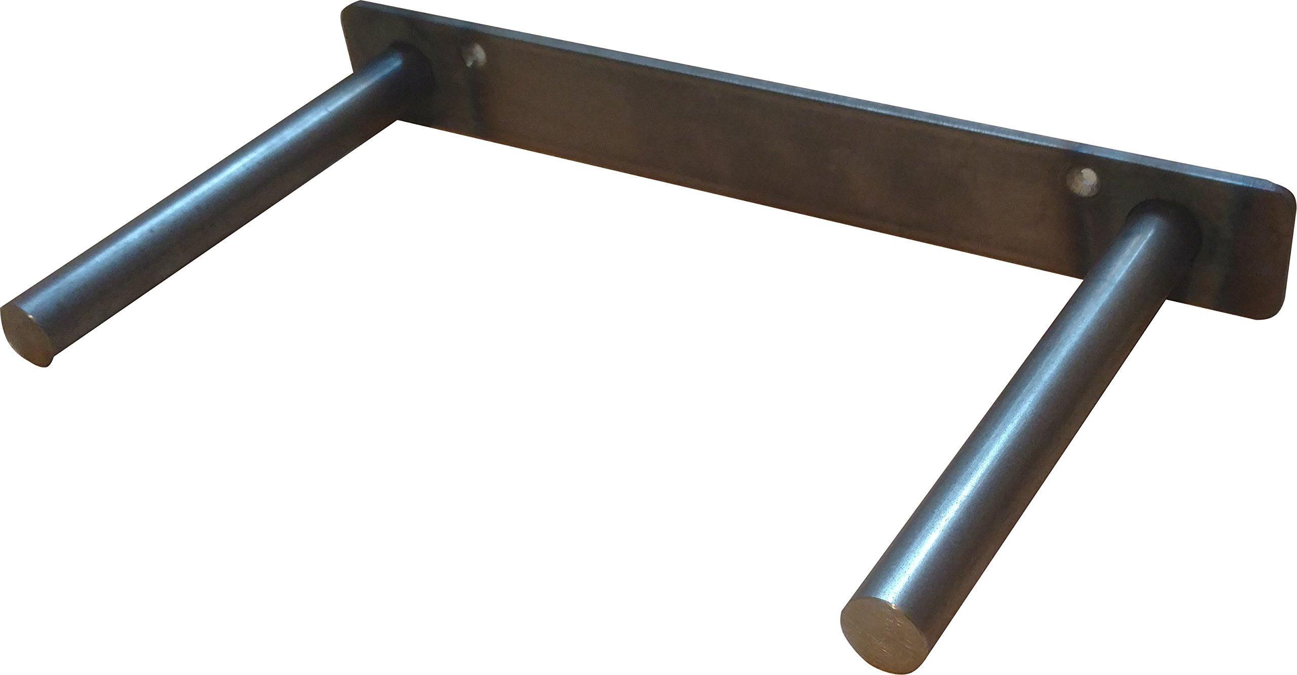 12'' Solid Steel Floating Shelf Bracket Heavy Duty MADE IN THE USA