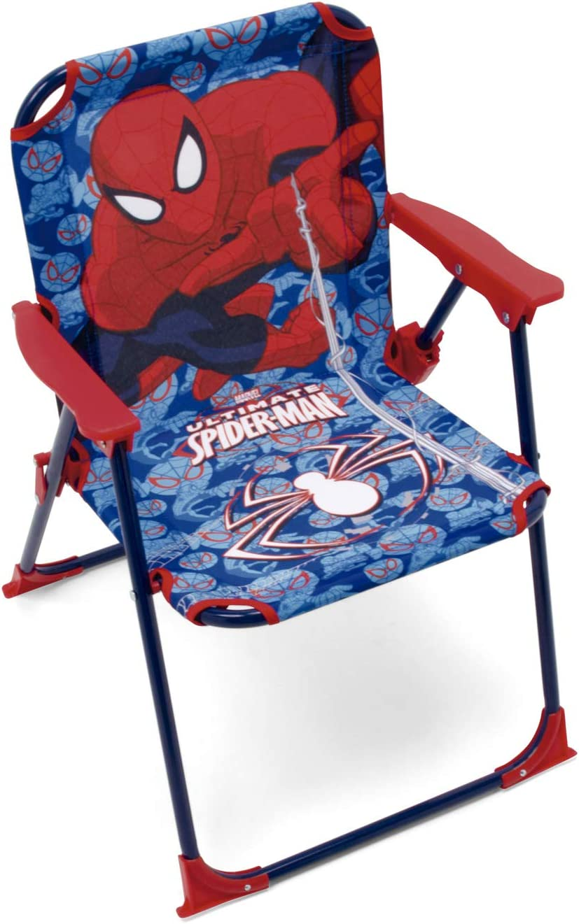 ARDITEX SM9460 Silla Plegable con Brazos de 38x32x53cm de Marvel-Spiderman