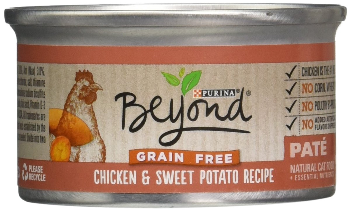 Beyond Dry Cat Purina Grain Free Chicken and Sweet Potato Recipe Can, 3 oz