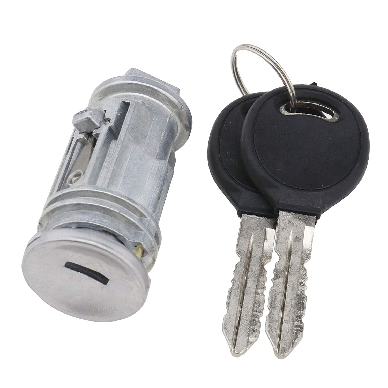 SING F LTD Ignition Key Switch Lock Cylinder with 2 Keys for Cars 5003843AB