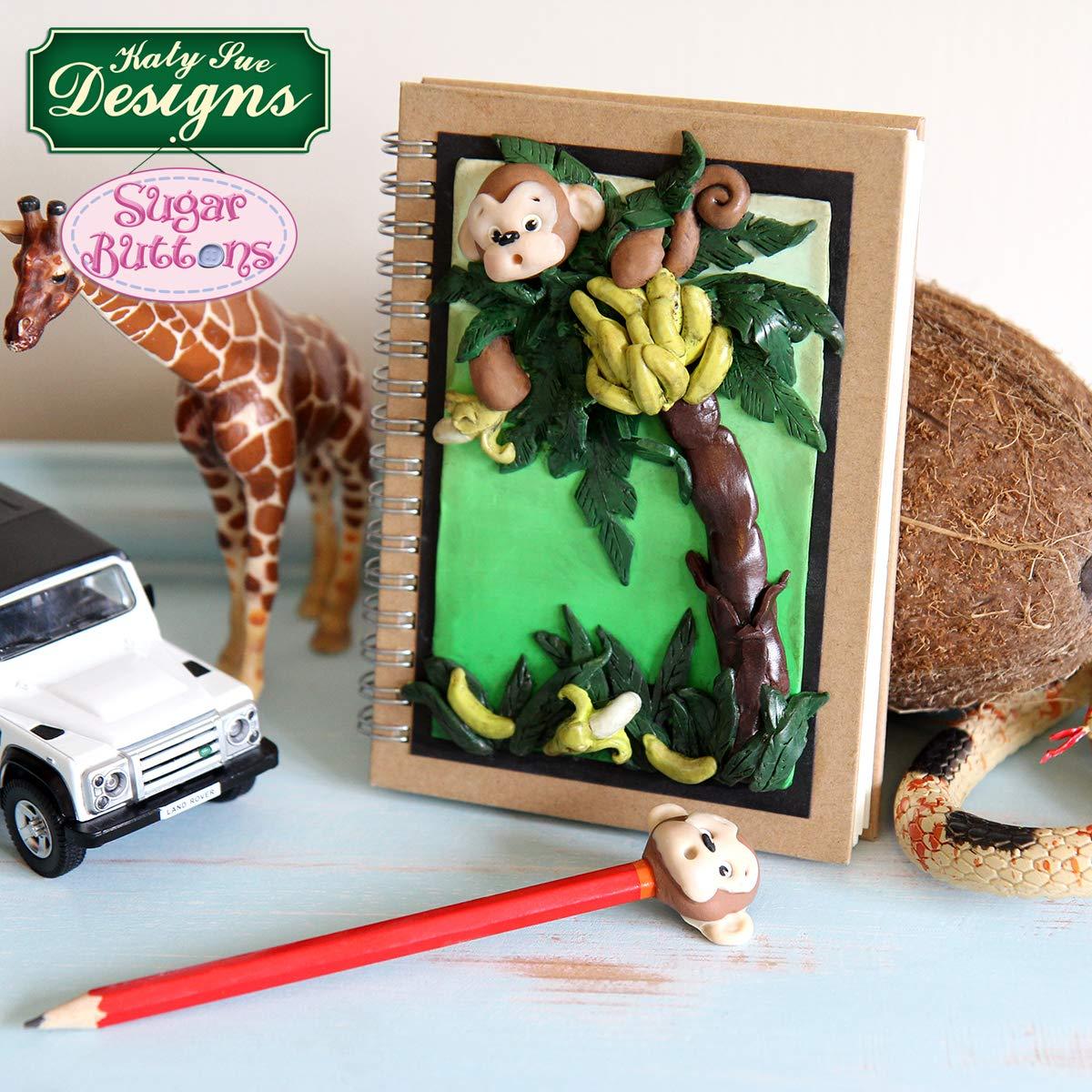 de qualit/é alimentaire bonbons et argile cupcakes The Safari Collection Moules en silicone pour d/écoration de g/âteaux sugarcraft