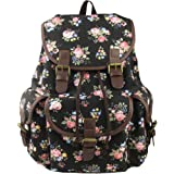 Imiflow Backpack for School Girls College Schoolbags Casual Laptop Purses Book Bags
