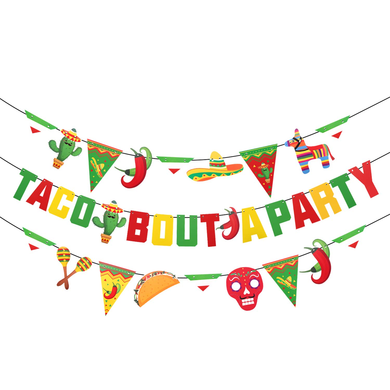 Its Time to Fiesta GoldBanner Bachelorette Party Banner Fiesta Bachelorette Party Cinco de Mayo Bachelorette PartyBanner Fiesta Theme Banner