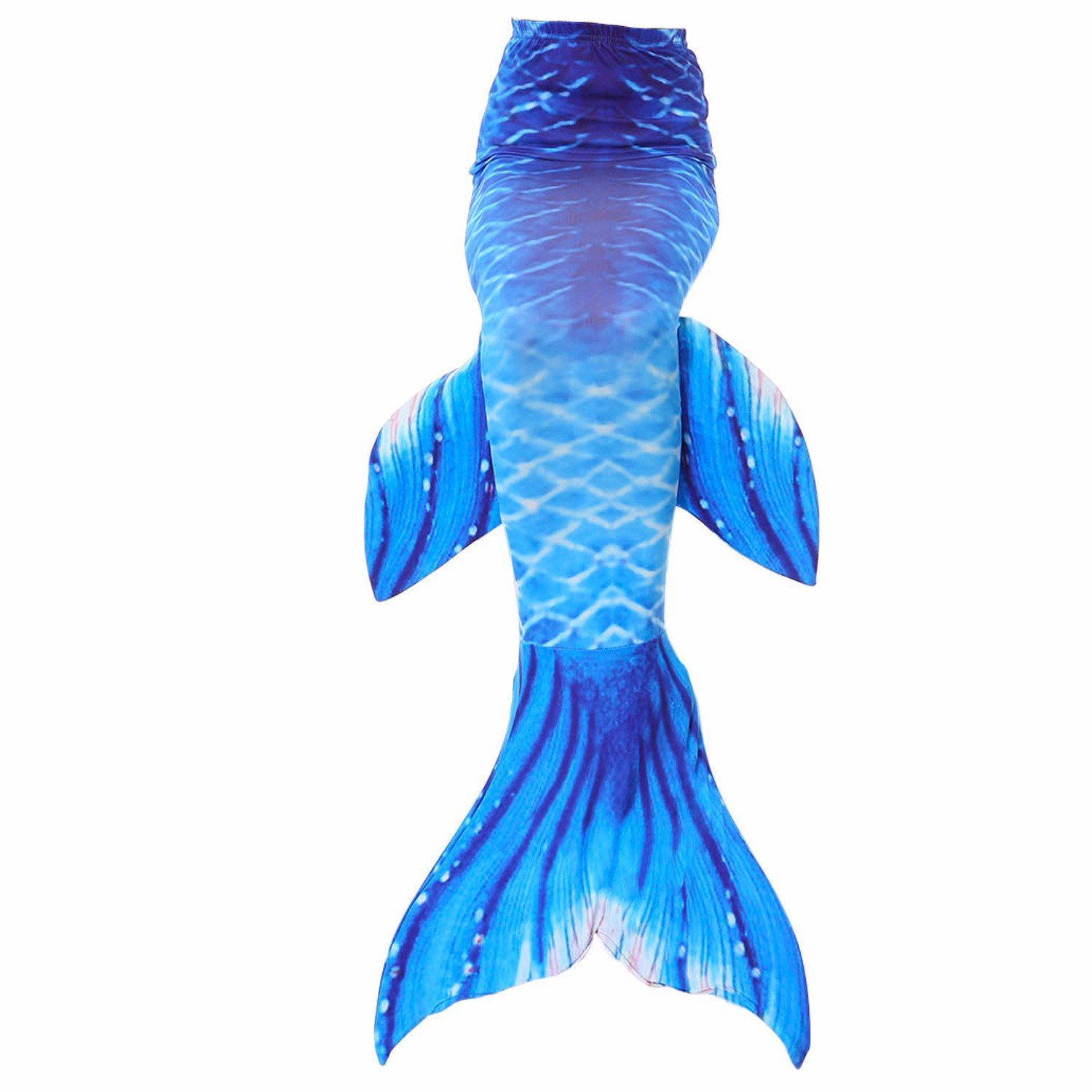 kuisen Adult women Swimmable Mermaid Tail (with no Monofin) Kids Girls Cos Gift