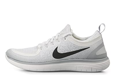 on sale 9bc8c fc7c0 Nike Mens Free Run Distance 2 Running Shoes (14 M US White/Black-Pure  Platinum) - rocket-league-community.de