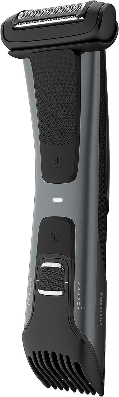 Philips Serie 7000 BG7020/15 - Afeitadora corporal con cabezal de recorte y de afeitado, apta para la ducha, 70 minutos de uso