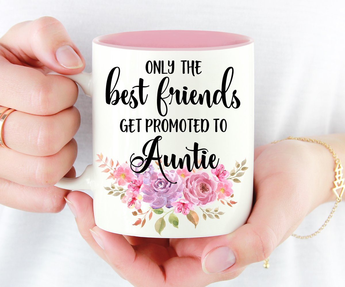 Only The Best Friends Get Promoted to Auntie Pregnancy Reveal Gift