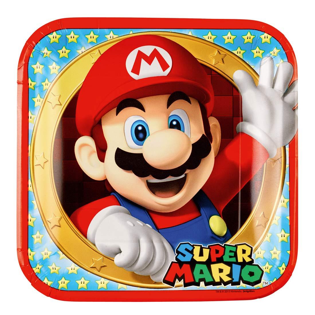 Amakando Mario y Luigi Feliz cumpleaños Guirnalda / 190 x 15 ...