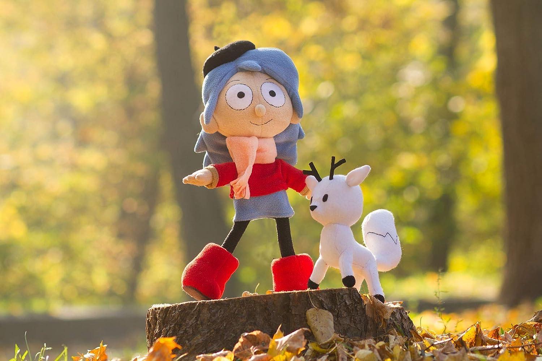 Hilda doll, Hilda plush, Twig plush, Hilda and Twig toys, handmade