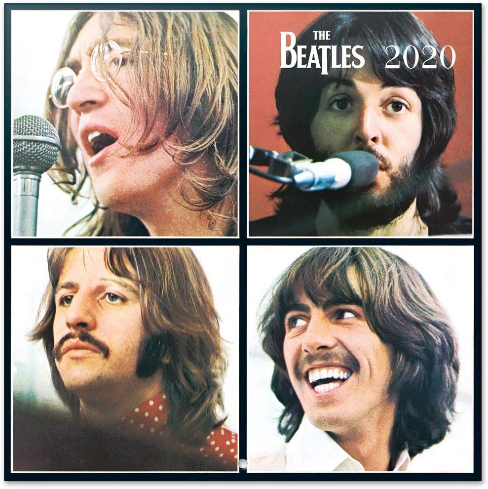 ERIK - The Beatles 2020 Wall Calendar, 16 Months, 30 x 30cm