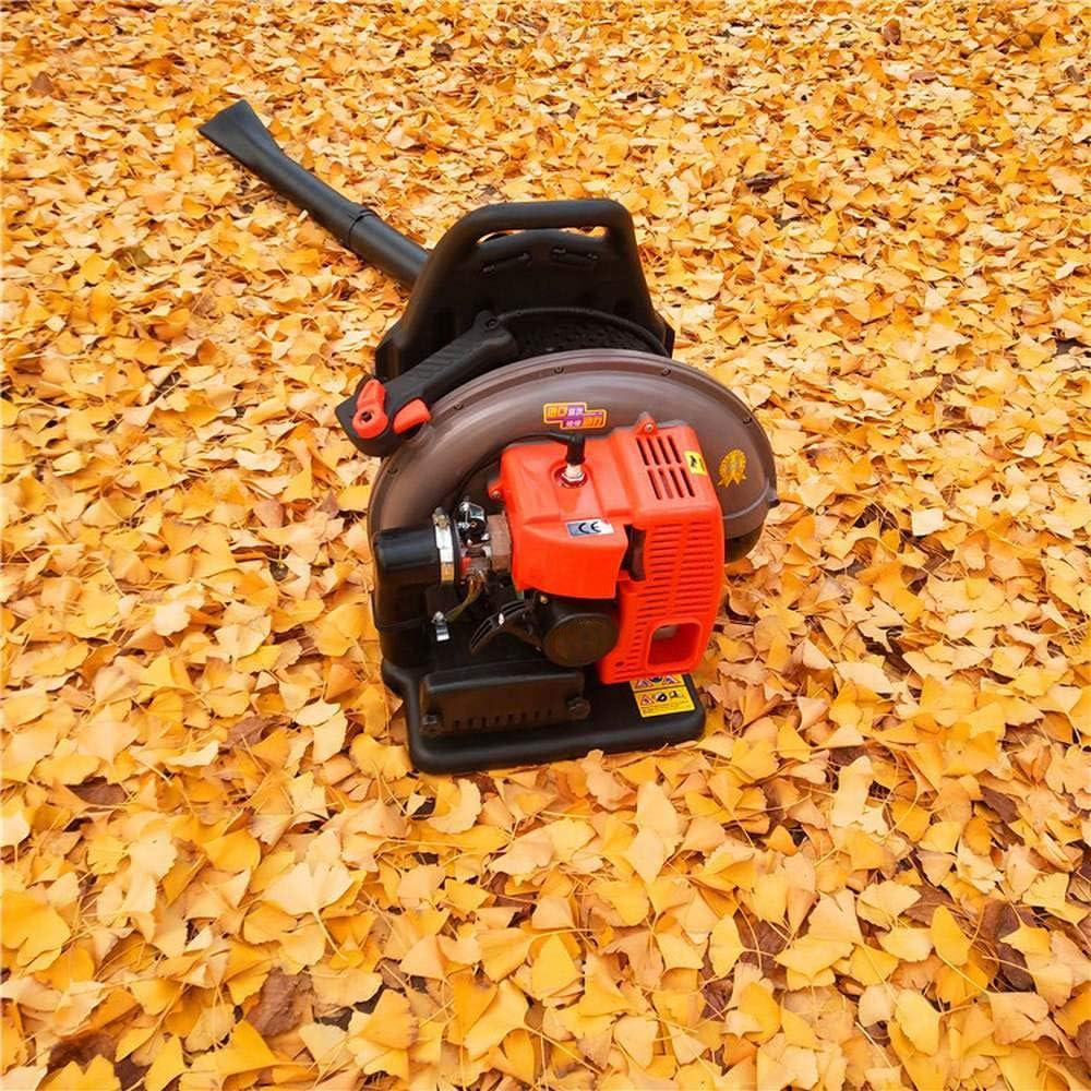 Soplador de hojas de gasolina, mochila de gasolina, soplador de hojas con correas acolchadas nuevas y mejoradas durante el uso, equipo de seguridad (motor de 2 tiempos): Amazon.es: Bricolaje y herramientas