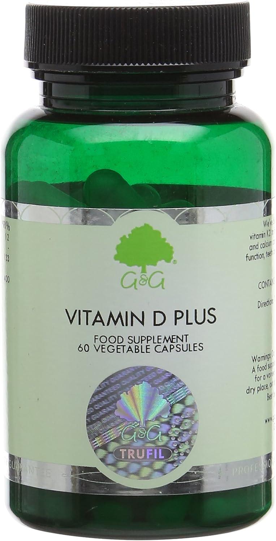 G&G Vitamins Vitamin D3 Plus Capsules