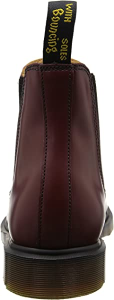 3243ab1d3765fd Dr. Martens Unisex-Erwachsene 2976 Smooth CHERRY RED Chelsea Boots Rot)