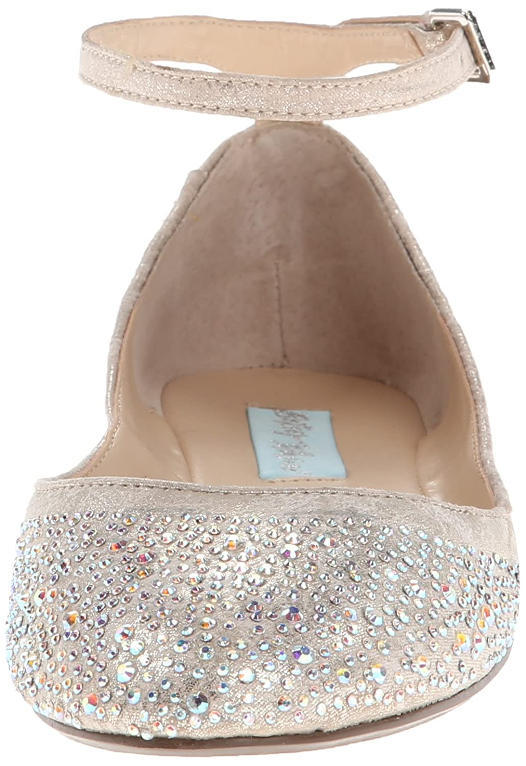41762b37767b ... Blue SB by Betsey Johnson Women s SB Blue Joy Ballet Flat B00E93ZD4W  7.5 M US