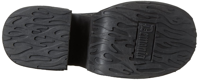 Demonia Women's Camel-203 B(M) Ankle Boot B071G95JHJ 7 B(M) Camel-203 US|Black Vegan Leather 071547