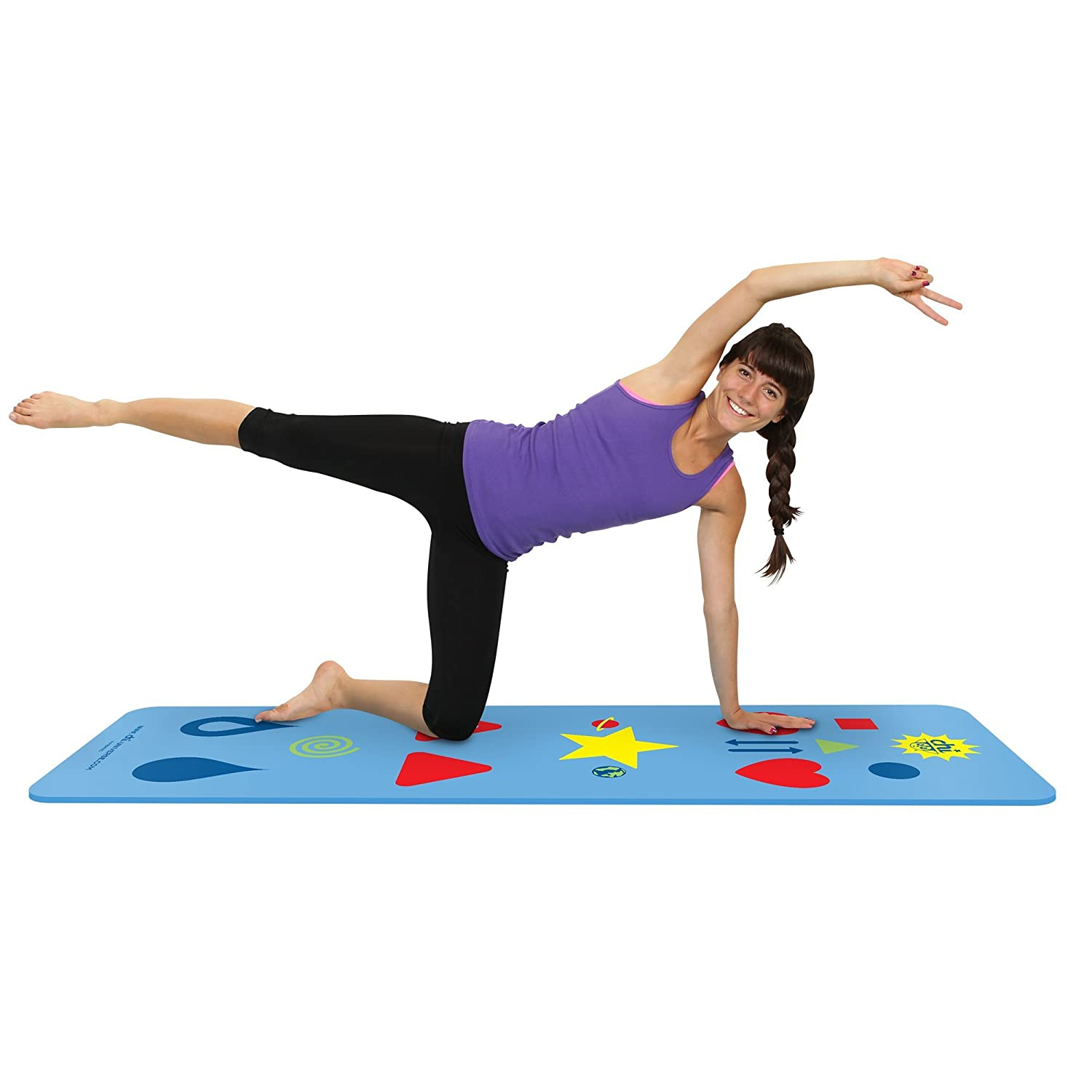 Amazon Phresh Chi Yoga Mat With Built In Exercise Game Effortlessly Learn While Having Fun