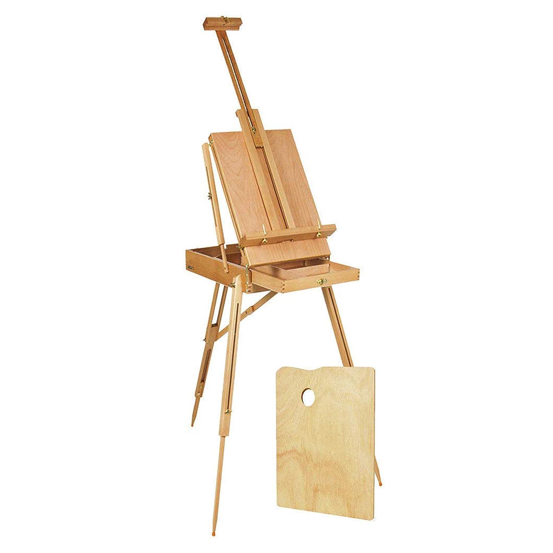 Kurtzy Artista Studio Cavalletto - Regolabile Portatile Cavalletto con Ripiano Archiviazione e Tavolozza - 182 cm/ 72 Professionale Grande Tela Cavalletto