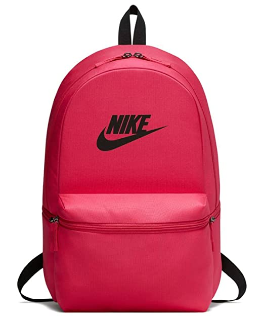 0f80892038145 Nike 25 Ltrs Rush Pink/Black/Black Casual Backpack (BA5749-666): Nike:  Amazon.in: Bags, Wallets & Luggage