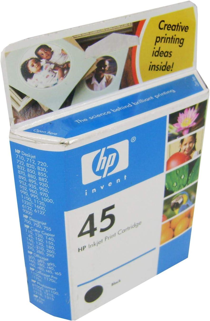 51645AL HP Deskjet 1600c Tinta negro: Amazon.es: Electrónica