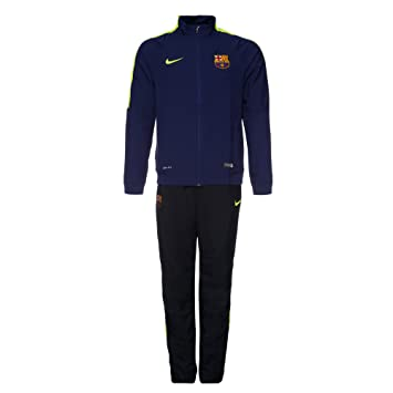 Nike FCB Squad SDLN WVN WUP - Chándal para hombre, color azul ...