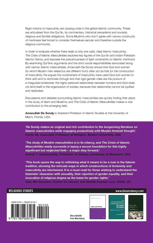 The Crisis of Islamic Masculinities: Amazon.co.uk: Amanullah De Sondy:  9781780936161: Books