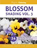 Blossom Shading Vol. 3: Stress Relieving Grayscale Photo Coloring for Adults