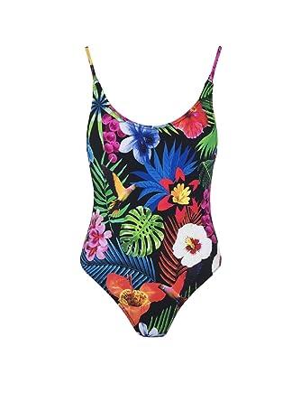 collection de remise 100% de haute qualité fabrication habile Desigual 19SWMK13 Maillot de Bain Femmes: Amazon.fr ...