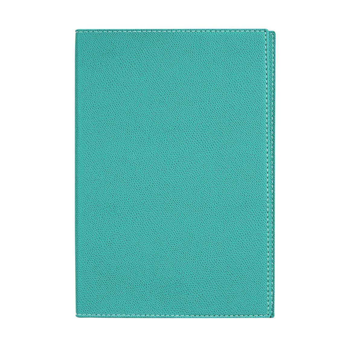Quo Vadis 2019 Space 24 Yearly Planner, Club Cover, 6.25 by 9.38 inches, Turquoise B07DWD25GH  | Vogue