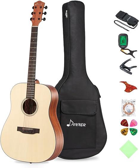 """Guitar Soft Case Bag Fit Straps for 41/"""" New Practical Black DT"""