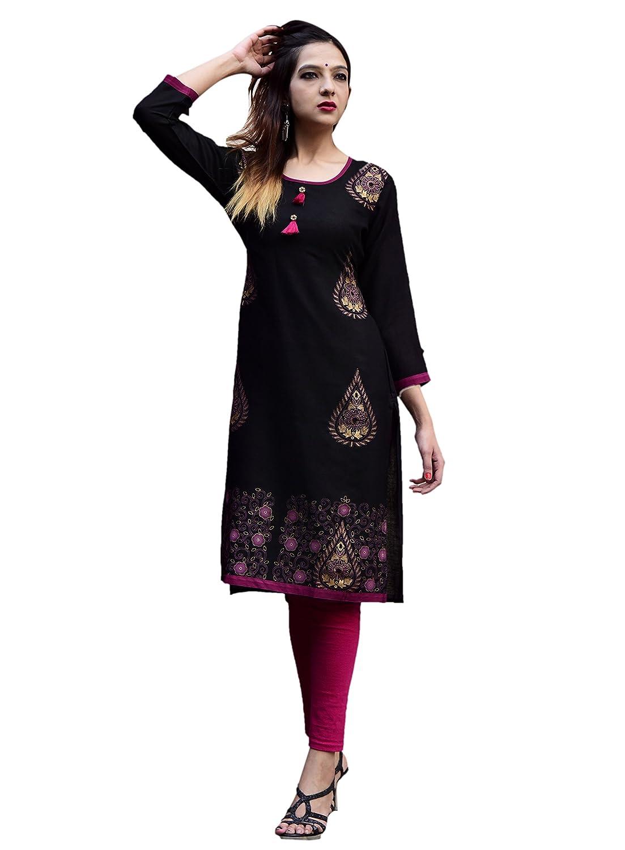 Vihaan Impex indische Kleidung indische Tunika Kurta Damen