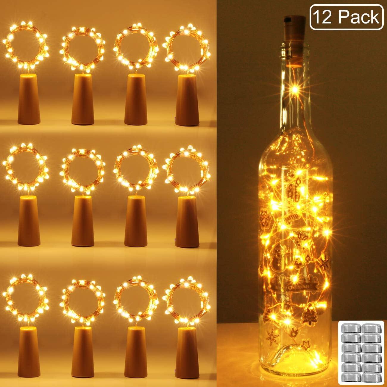 luz de Botella, Kolpop luz Corcho, luces led para Botellas de Vino ...
