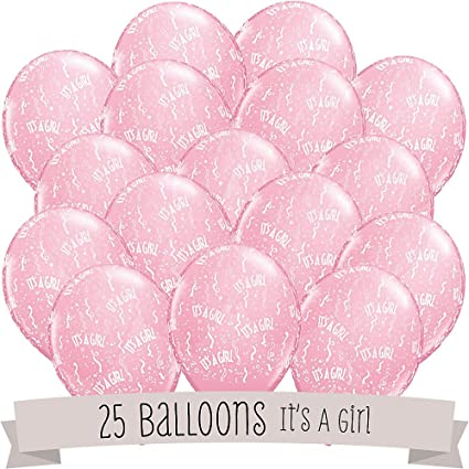 Baby Shower Balloons   25 Ct